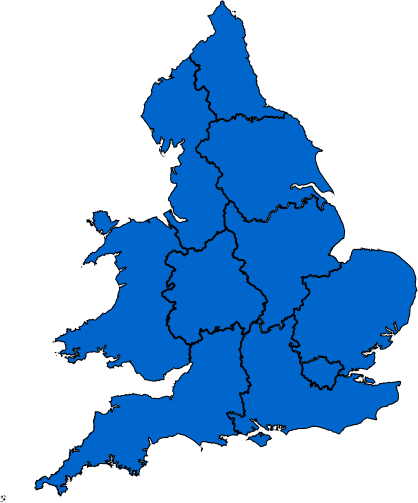 AgentHMO properties by area - UK Map